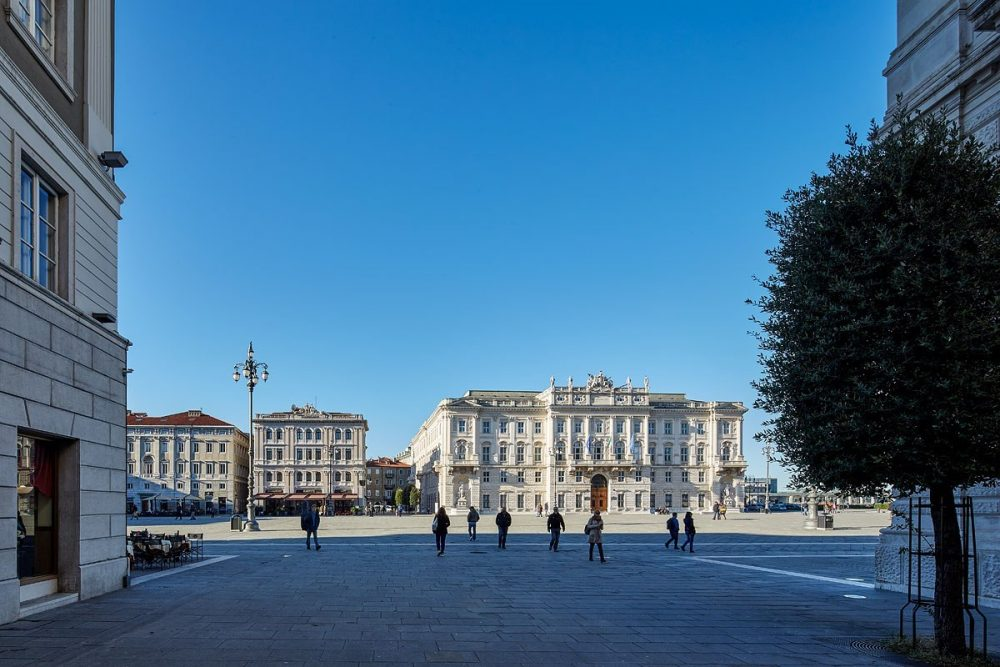 Piazza dell' Unità d' Italia, Triest