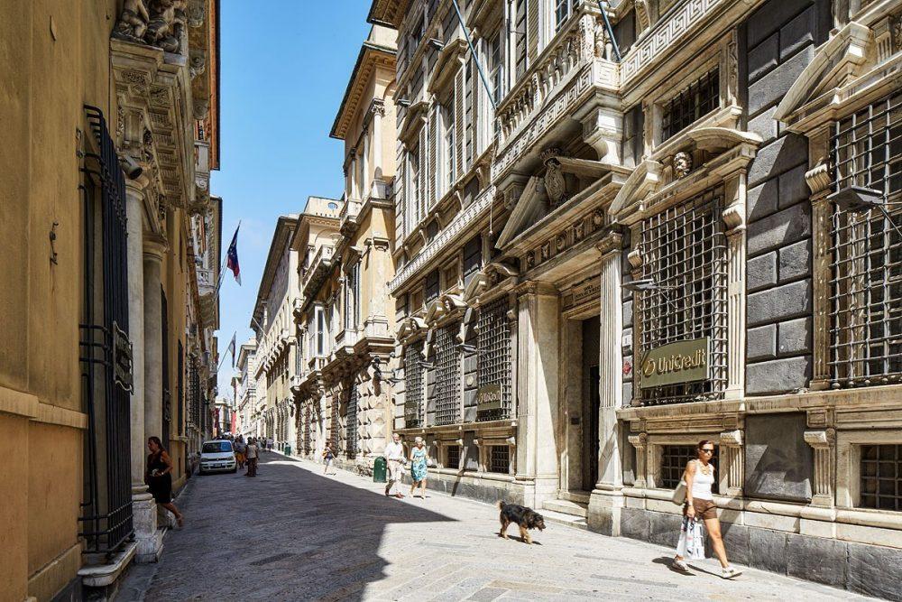 Strada Nuova, Genua