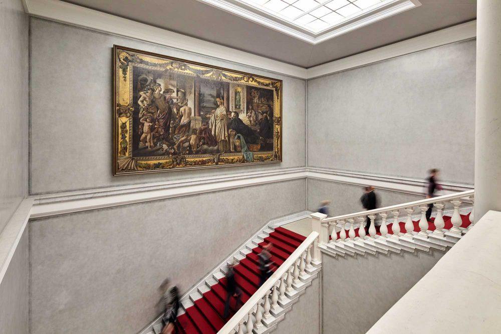 Treppenhaus in der Alten Nationalgalerie