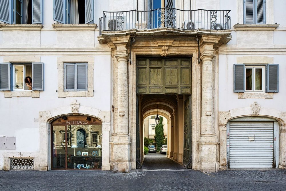 Piazza Farnese, Rom