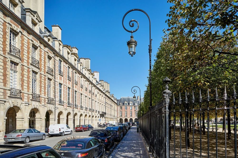 Place des Voges, Paris