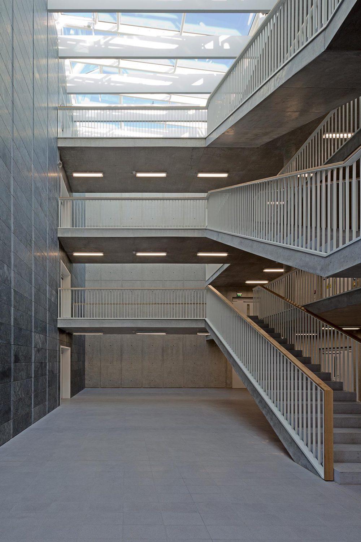 Speichermagazin der Staatsbibliothek zu Berlin  Auftraggeber: Bundesamt für Bauwesen und Raumordnung